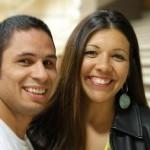 Javier Vazquez and Rose Gracie