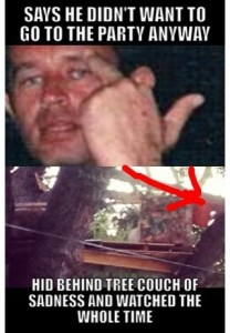 """""""Tree House of Shame"""" - Meme Winner"""