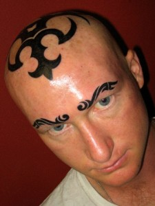Head Tattoo...
