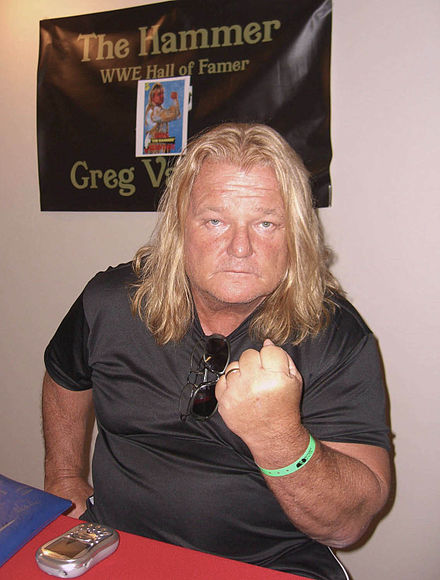 "Greg ""The Hammer"" Valentine"